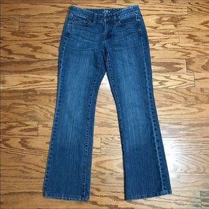 Ann Taylor Bootcut Jeans Size 2